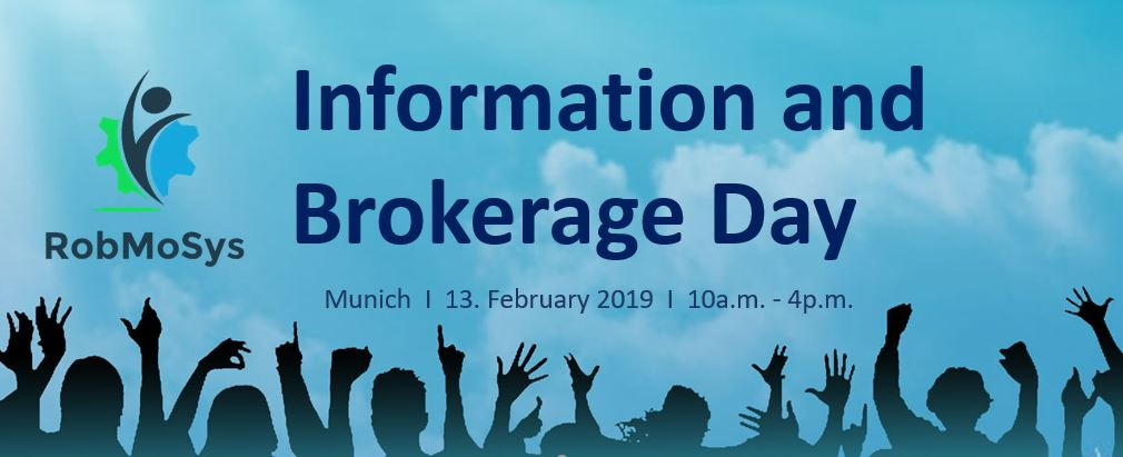 RobMoSys Brokerage Day Munich