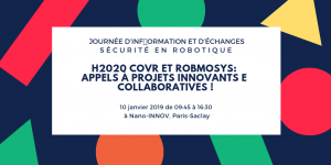 H2020 funding opportunities RobMoSys COVR