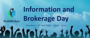 RobMoSys Brokerage Day Barcelona